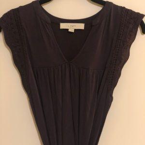 LOFT Sleeveless Tie Wrap Dress